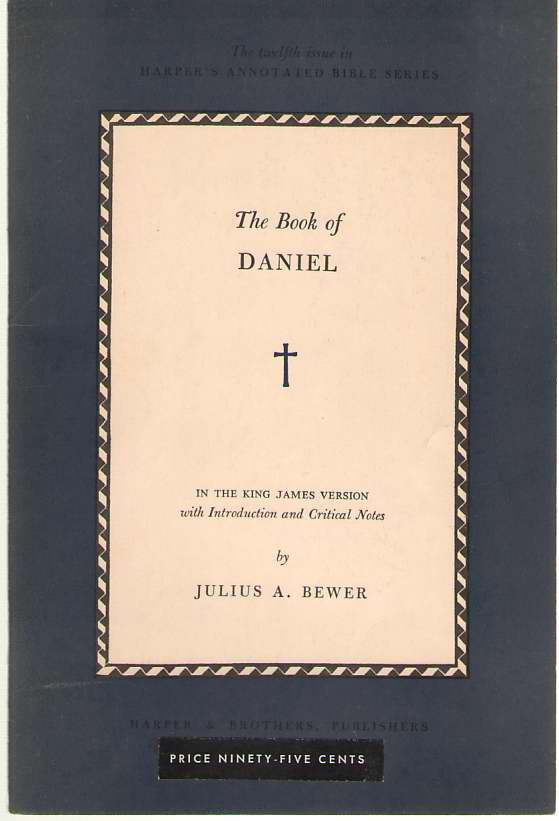 Image for Harper's Annotated Bible Series   Book of Daniel : Number 12