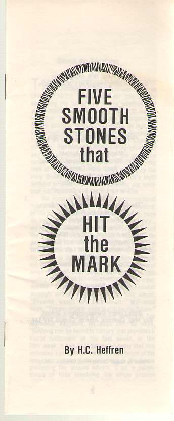 Image for Five Smooth Stones that Hit the Mark