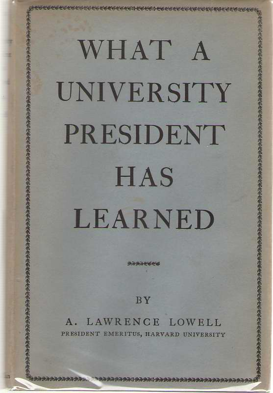 Image for What a University President Has Learned
