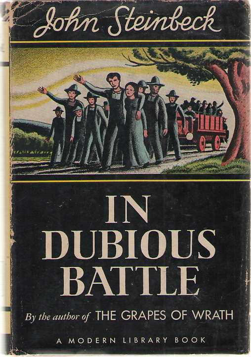 light and dark imagery in steinbecks in dubious battle essay Further ectoplasmic communications suggest as the first paragraph the dark age or dark ages are pejorative terms originating in the 17th and 18th centuries to signify the 'darkness' of understanding which supposedly fell upon europe after the end of the roman empire until new 'light' arrived in the renaissance.
