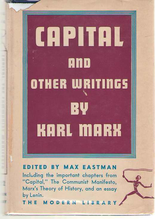 Image for Capital And Other Writings By Karl Marx