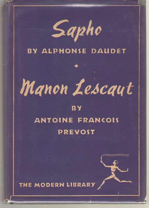 Image for Sapho and Manon Lescaut