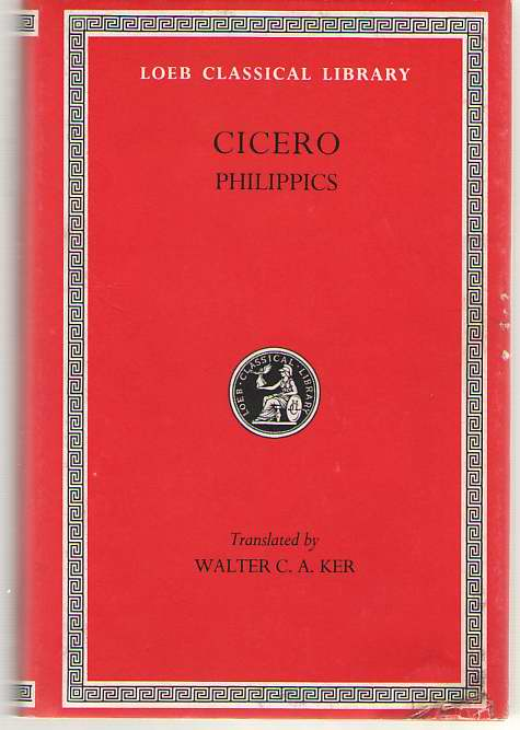 Image for Orations  Philippics   (Volume XV)