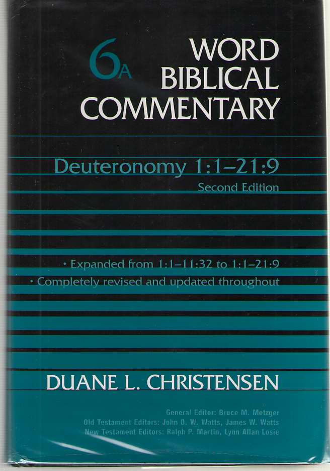 Image for Deuteronomy 1: 1-21: 9 Revised and Expanded