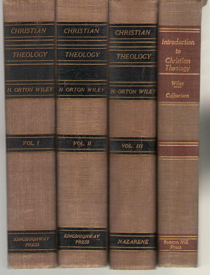 Image for Christian Theology (3 Volumes) Plus Wiley And Culbertson's Introduction Christian Theology Complete 4 Volume Set