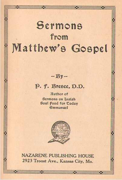 Image for Sermons from Matthew's Gospel
