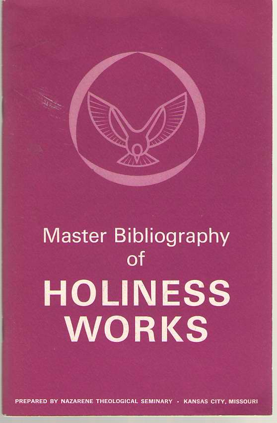 Image for Master Bibliography Of Holiness Works