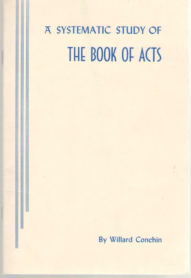 Image for Systematic Study of the Book of Acts