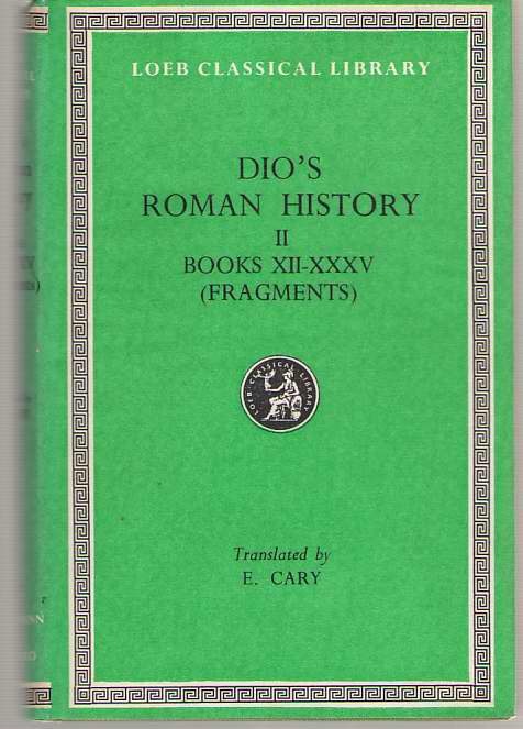 Image for Roman History, Volume II  Books 12-35