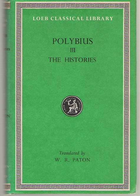 Image for Polybius  The Histories, Volume III, Books 5-8