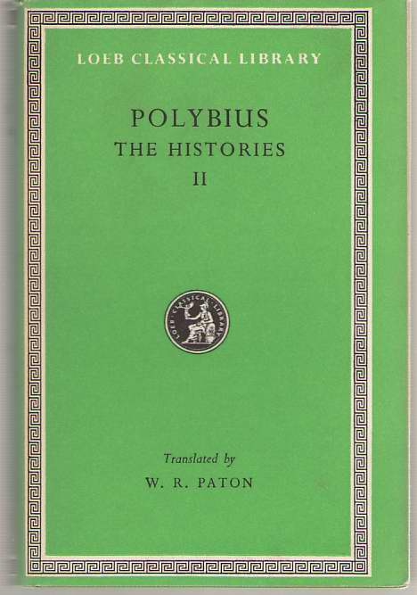 Image for Polybius  The Histories, Volume II, Books 3-4