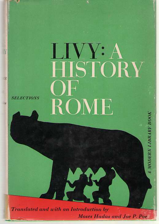 Image for Livy: A History Of Rome Selections