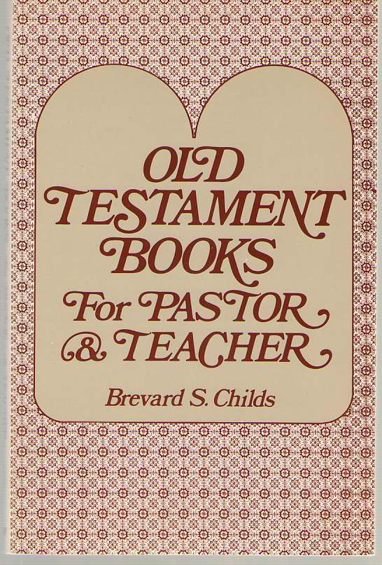 Image for Old Testament Books For Pastor And Teacher