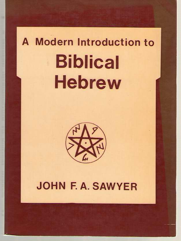 Image for A Modern Introduction to Biblical Hebrew