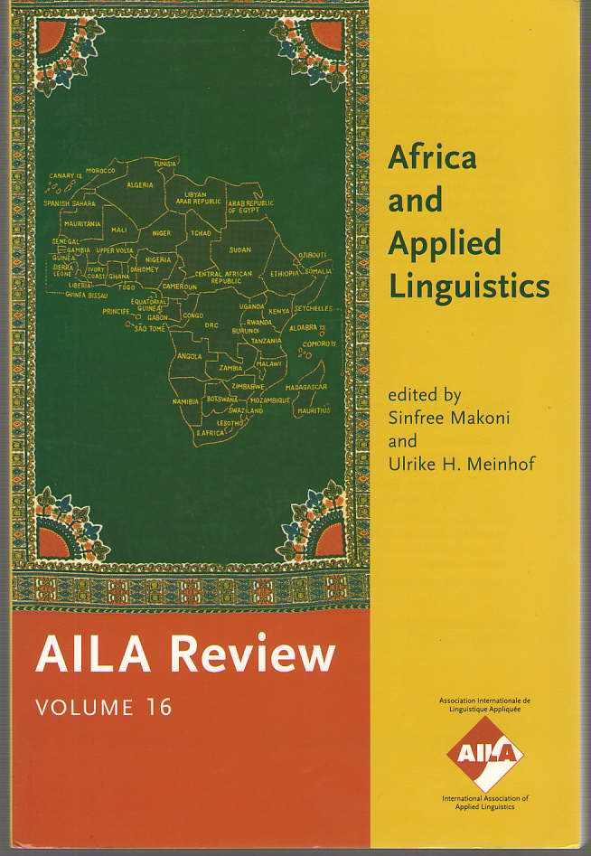 Image for Africa And Applied Linguistics