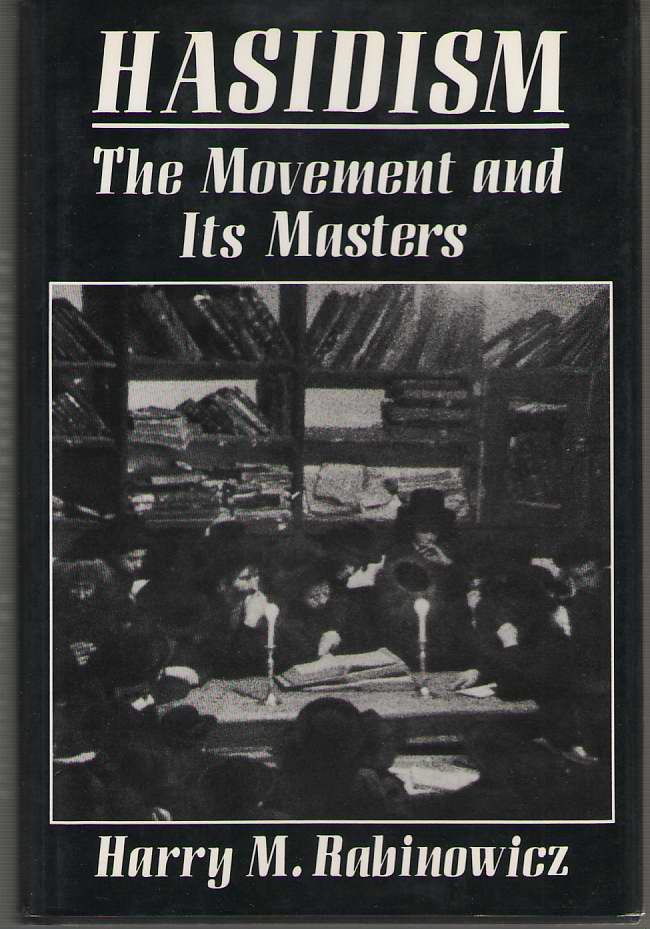 Image for Hasidism  The Movement and Its Masters