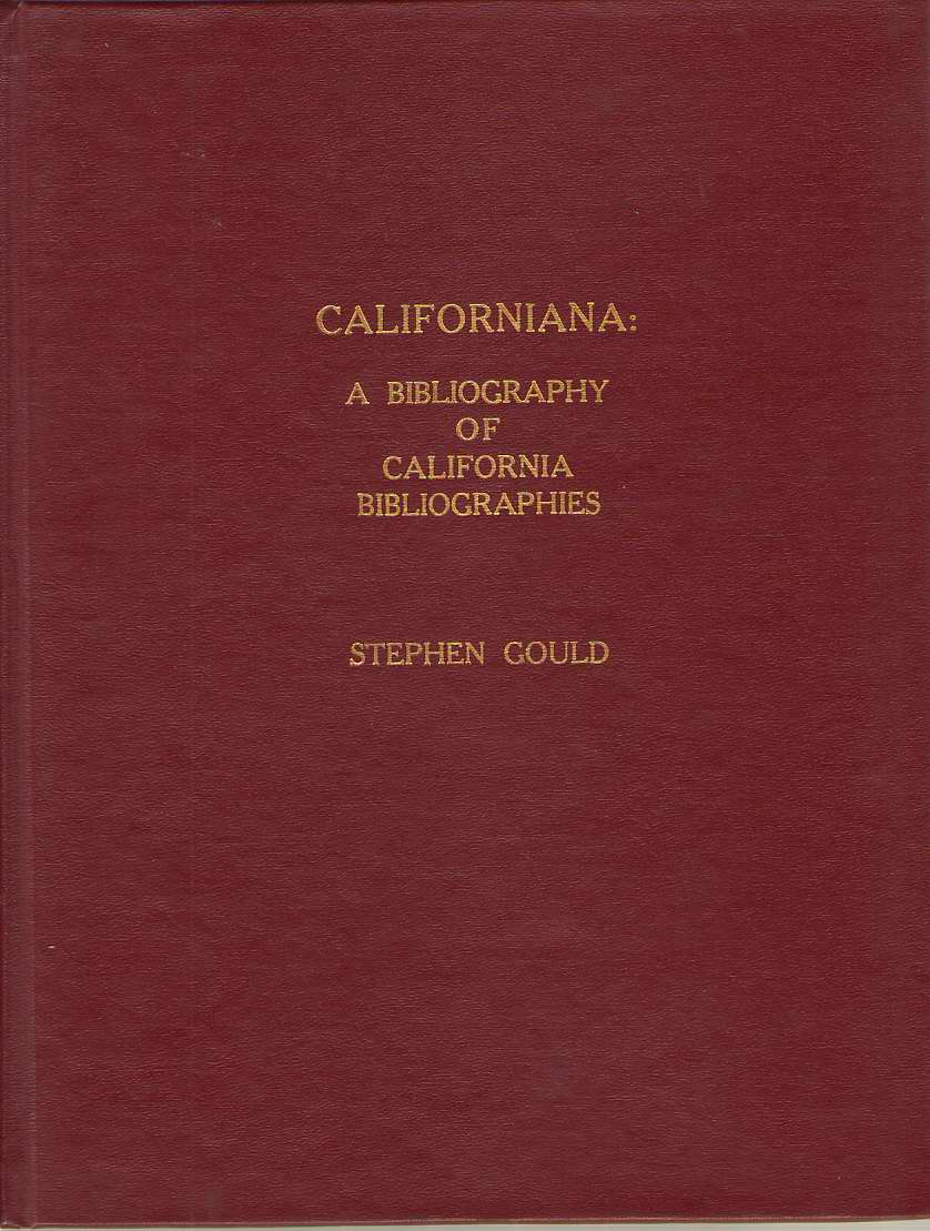 Image for Californiana A Bibliography of California Bibliographies