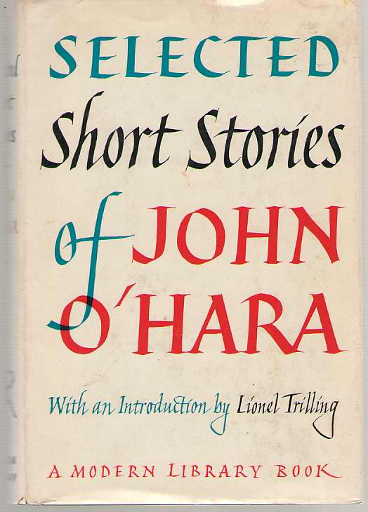 Image for Selected Short Stories of John O'Hara