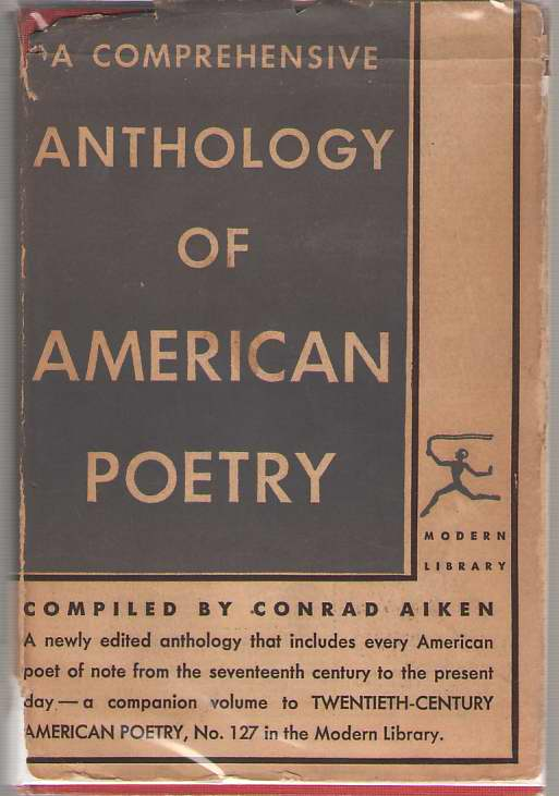 Image for A Comprehensive Anthology Of American Poetry