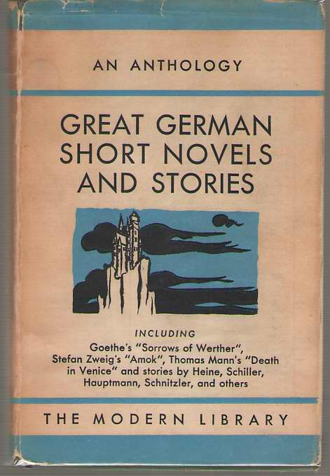 Image for Great German Short Novels And Stories