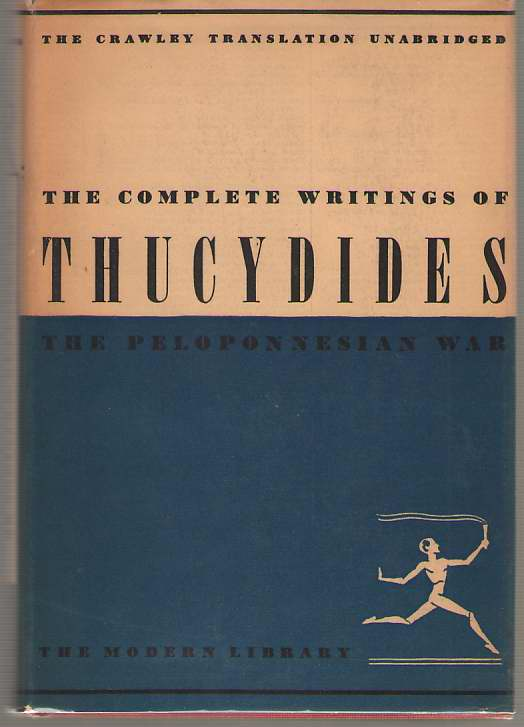 Image for The Complete Writings Of Thucydides The Peloponnesian War