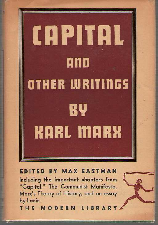 Image for Capital, The Communist Manifesto And Other Writings By Karl Marx