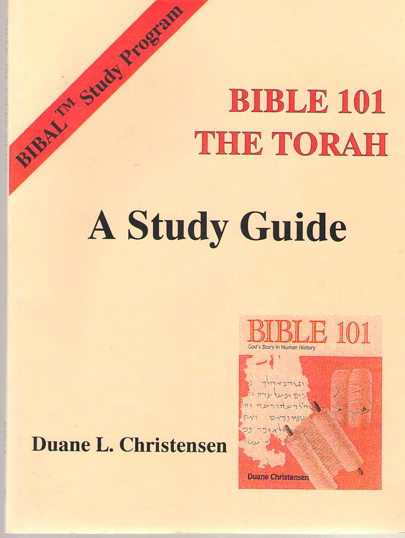 Image for Bible 101: The Torah  A Study Guide