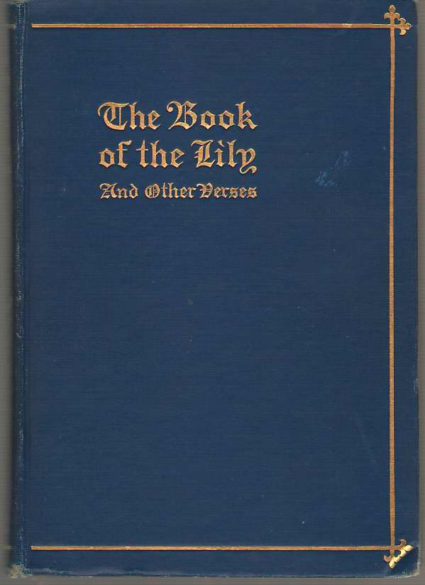 Image for Book of the Lily & Other Verses