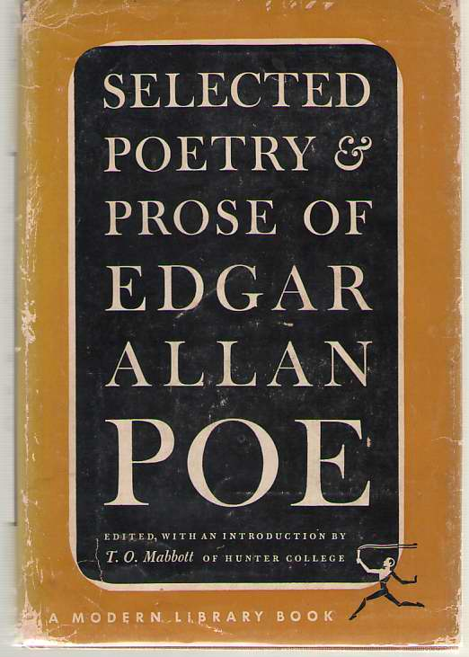 Image for The Selected Poetry And Prose Of Edgar Allan Poe