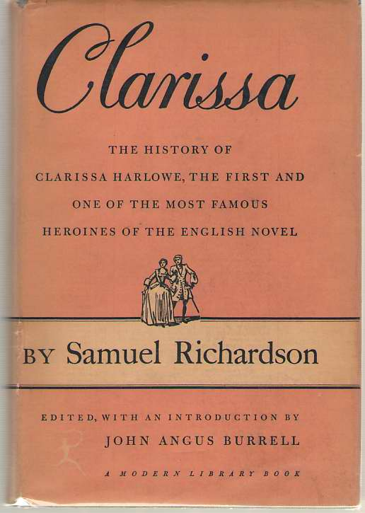 Image for Clarissa, Or The History Of A Young Lady