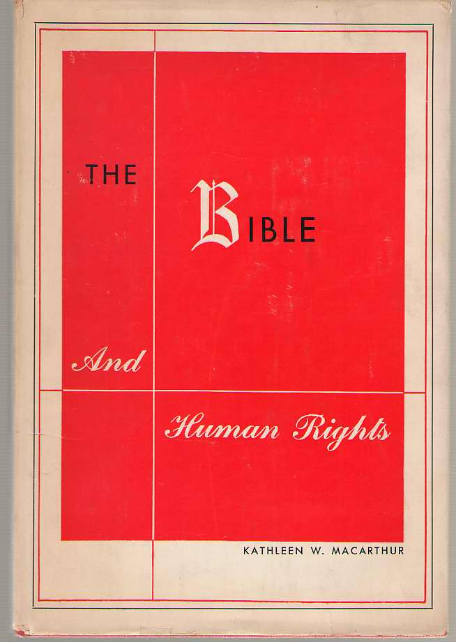 Image for The Bible And Human Rights