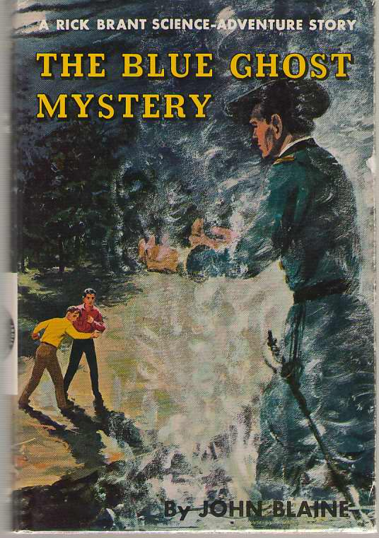 Image for The Blue Ghost Mystery