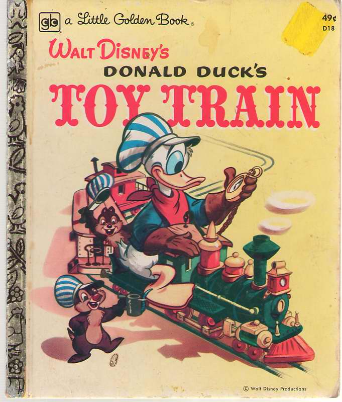 Image for Walt Disney's Donald Duck's Toy Train