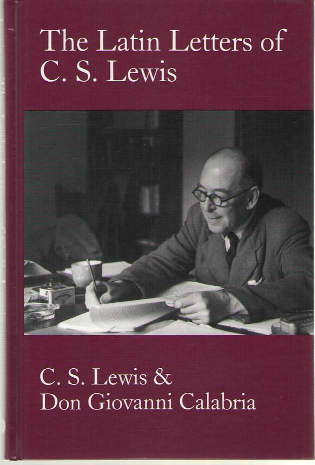 Image for Latin Letters Of C. S. Lewis