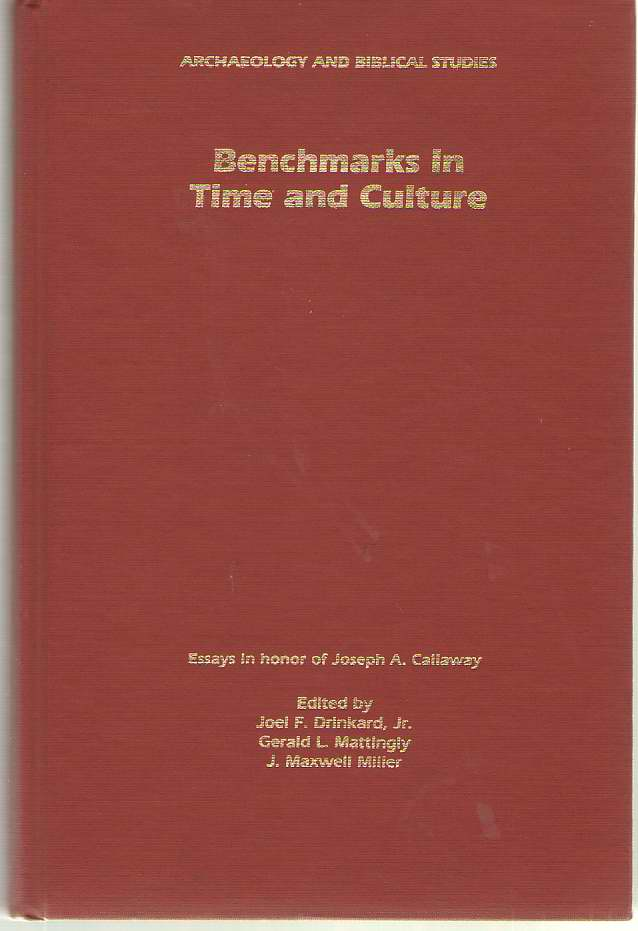 Image for Benchmarks in Time and Culture
