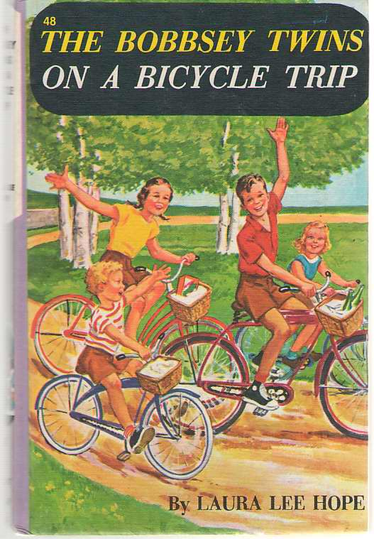 Image for The Bobbsey Twins On A Bicycle Trip