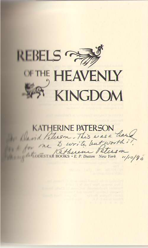 Image for Rebels of the Heavenly Kingdom