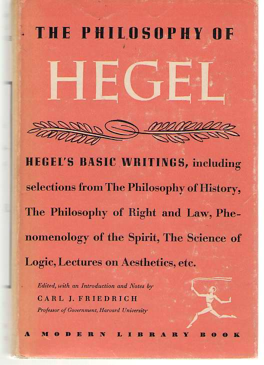 Image for The Philosophy Of Hegel