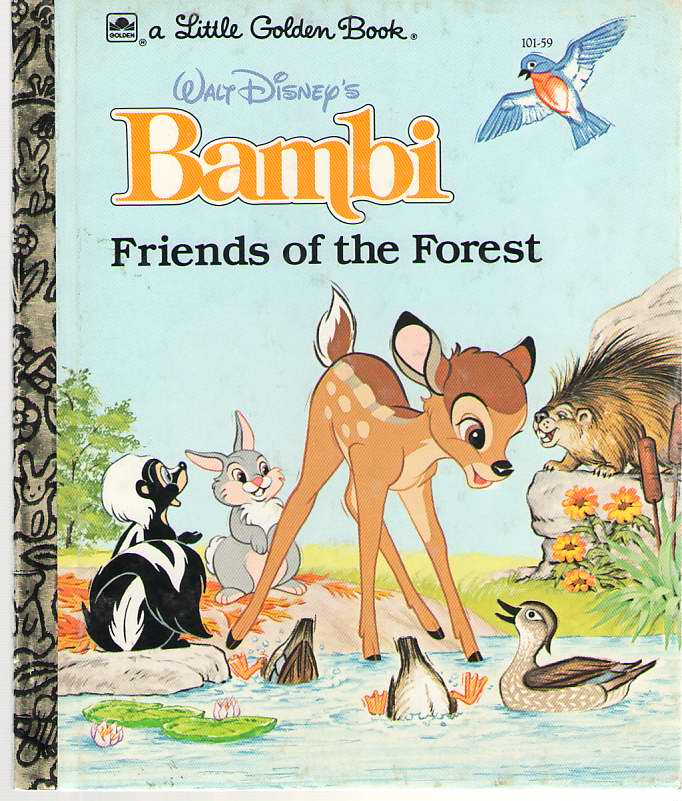 Image for Walt Disney's Bambi  Friends of the Forest