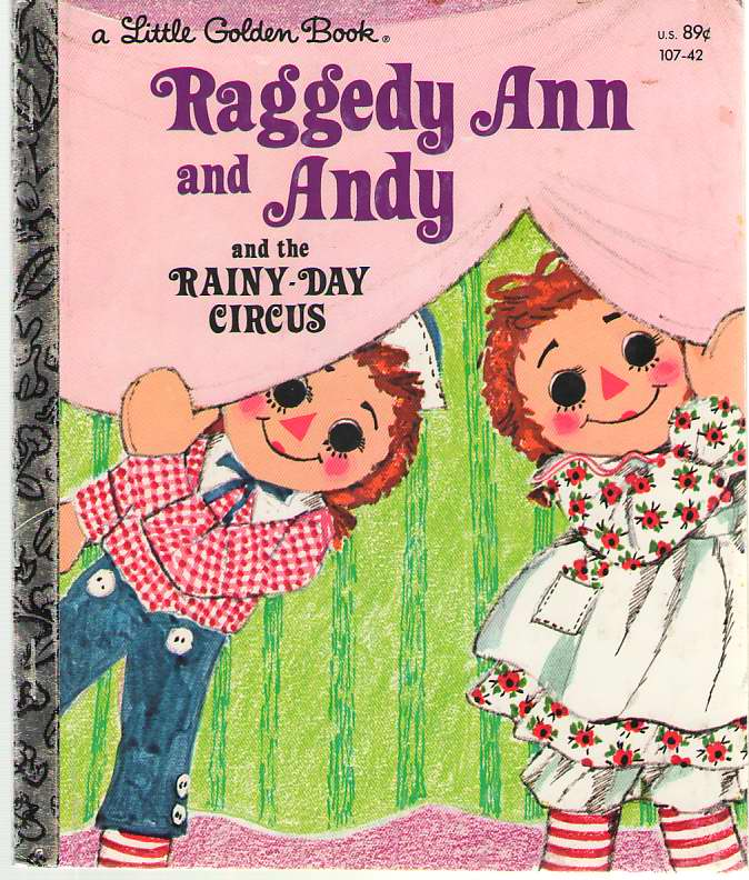 Image for Raggedy Ann and Andy and the Rainy Day Circus