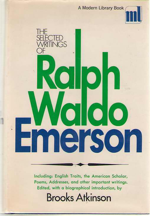Image for The Selected Writings of Ralph Waldo Emerson