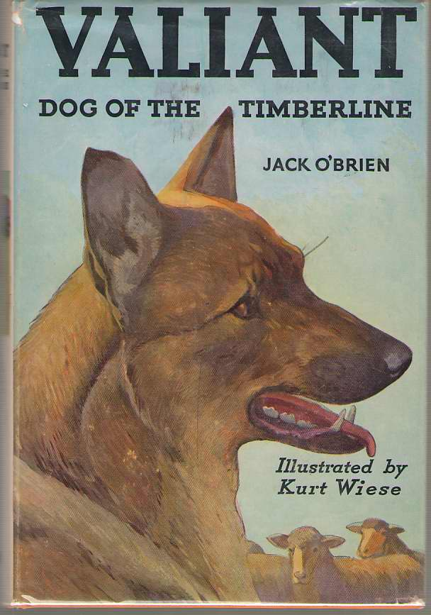 Image for Valiant, Dog Of The Timberline