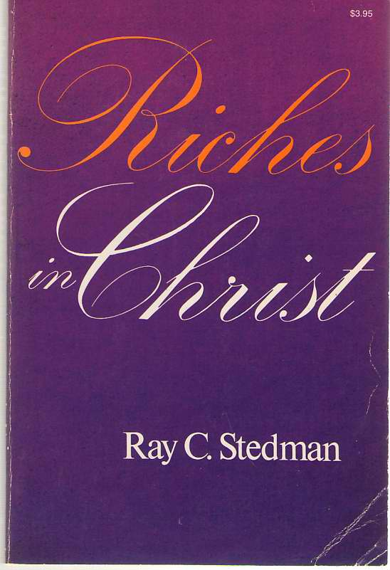 Image for Riches In Christ Expository Studies in Ephesians 1-3