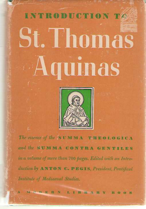 Image for Introduction to St. Thomas Aquinas