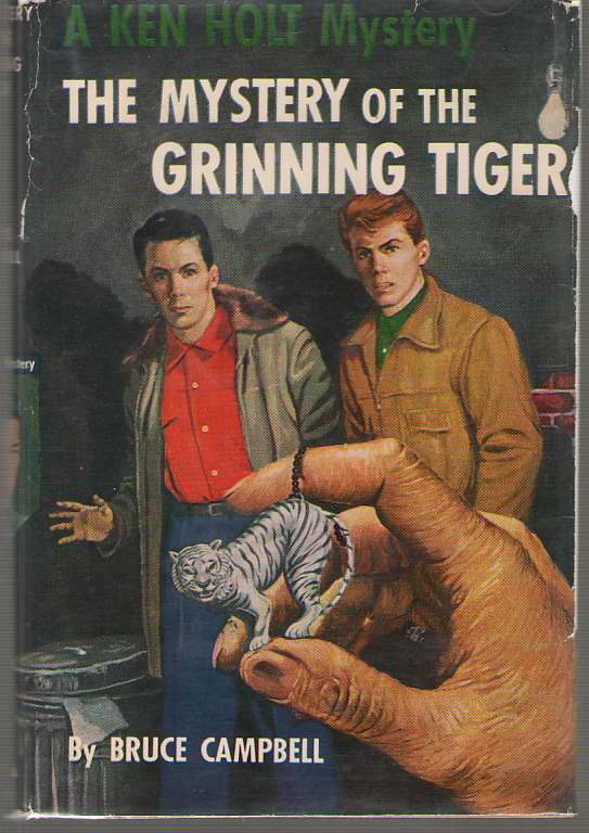 Image for The Mystery Of The Grinning Tiger