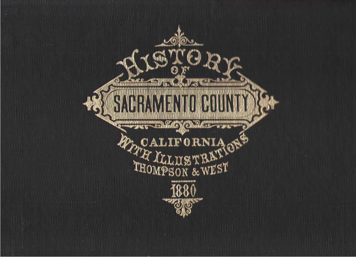 Image for History of Sacramento County California With Illustrations