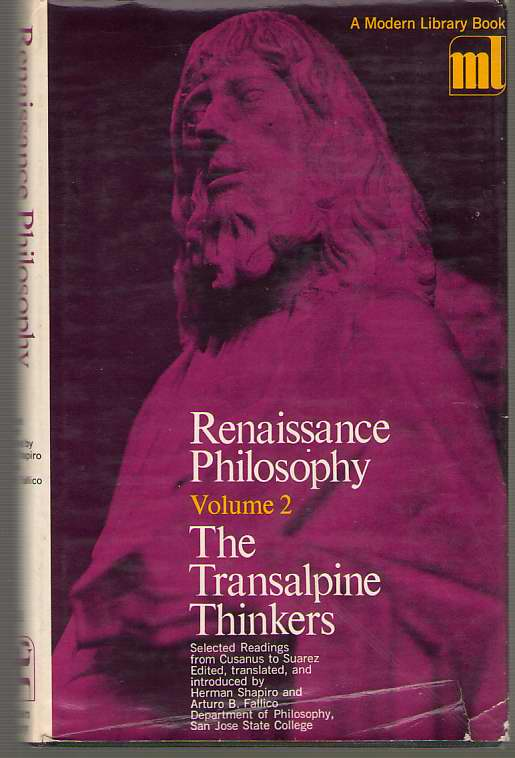 Image for Renaissance Philosophy Volume Two: the Transalpine Thinkers