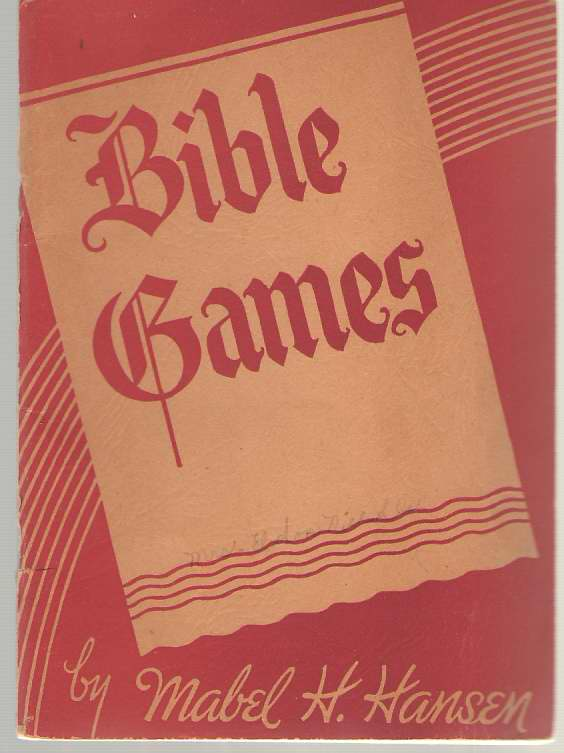 Image for Bible Games