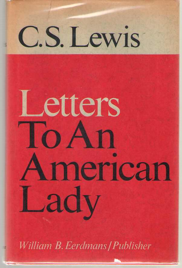 Image for Letters To An American Lady