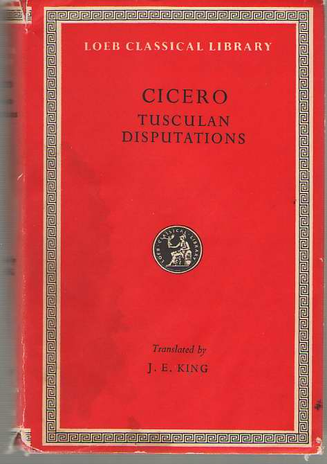 Image for Cicero  Tusculan Disputations